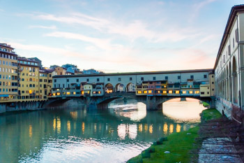 The Ponte Vecchio (Old Bridge), Florence, Italy