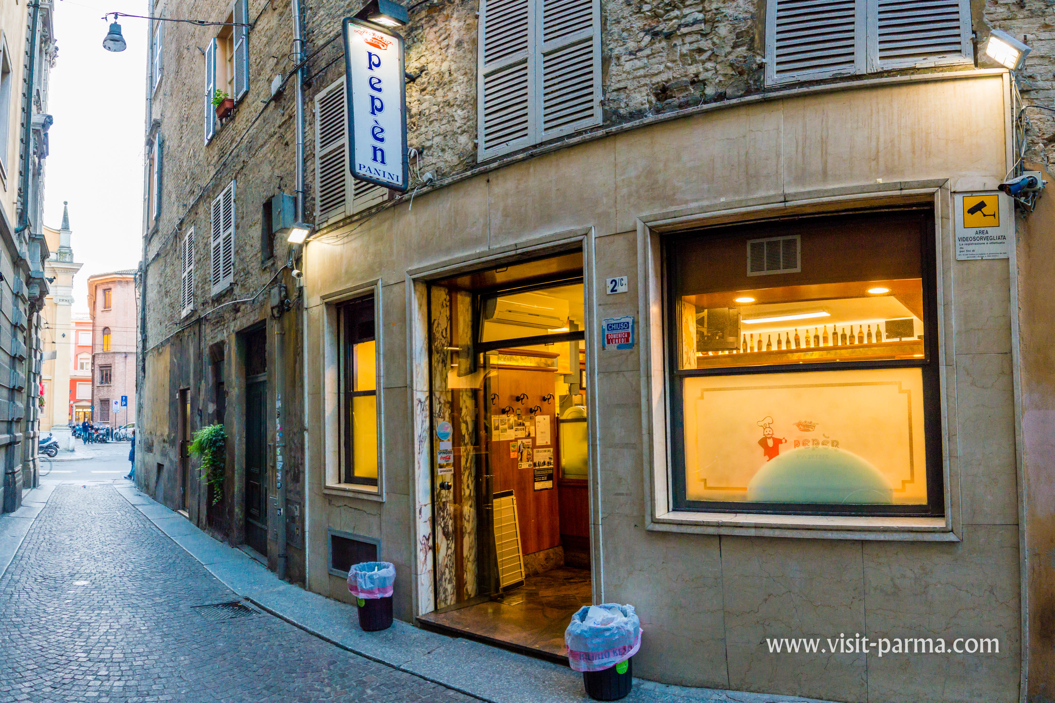 Sandwich Bar Pepèn Parma Italy